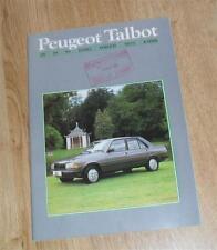 Peugeot Talbot Range Brochure 1985 inc 205 GTI Samba 505 305 Horizon Minx Rapier