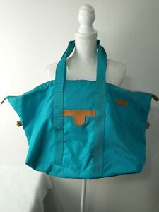 "20"" Hartmann Nylon Turquoise Shoulder Carry-On Travel Bag"