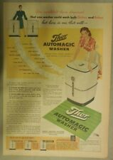 Thor Appliances Ad: Thor Automatic Washer from 1945