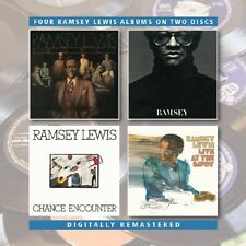 RAMSEY LEWIS - LEGACY/RAMSEY/CHANCE ENOUNTER/LIVE AT THE SAVOY  2 CD NEW!