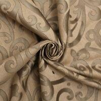 Next Fabric Canvas Style Velvet Floral Swirl Sofa Cushion Upholstery Fabric