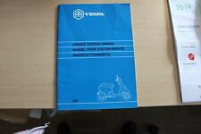 Piaggio Vespa Zusatz zum Werkstatthandbuch für Roller Sfera