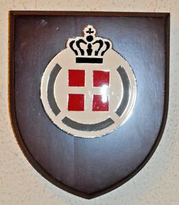Danish Defence regimental mess wall plaque crest shield Forsvaret