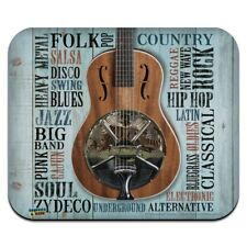 Music Styles Guitar Low Profile Thin Mouse Pad Mousepad