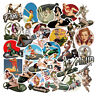 50Pcs Pin-up Girl Sticker Bomb Vinyl Skateboard Guitar Laptop Luggage Decal Pack