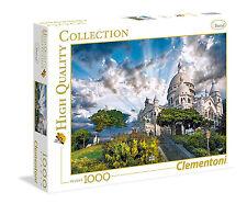 Clementoni Puzzle 1000 Teile Montmartre (39383) Paris Frankreich Basilika