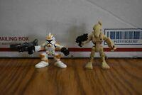 Star Wars Galactic Heroes Set of 2  Battle Droid/Clone Trooper  ARMY BUILD