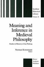 Synthese Historical Library: Meaning and Inference in Medieval Philosophy :...