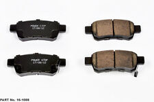 4 New Powerstop Evolution Ceramic Disc Brake Pads Rear fits 05-10 Odyssey