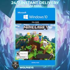 Minecraft Windows 10 Edition CD KEY Digital Key  - GLOBAL DOWNLOAD