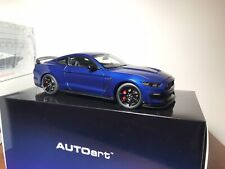 1:18 Autoart Ford Shelby Mustang GT350R Lightning Blue NEW MINT