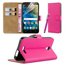 Samsung Galaxy J3 2017 Case Cover Leather Wallet Flip Book Stand View Card Holde Pink