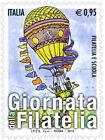 2015 Italia 2 singoli Giornate della filatelia con codice a barre 1701 MNh**