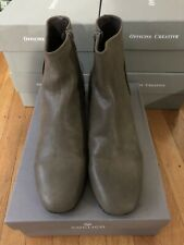 Coclico Womens Boots Enkel Talco Khaki Size 40 Leather New In Box $425