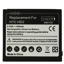BATTERIA DA 1350MAH per HTC HD2 T8585 LEO IONI DI LITIO NUOVA GARANTITA PILA