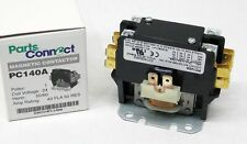 PC140A Contactor Single One 1 Pole 40 Amps 24 Volts A/C Air Conditioner NEW