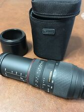 Sigma APO DG 70-300mm 1:4-5.6 Lens for Minolta With Pouch Made In Japan CLEAN