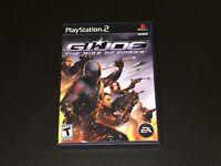 G.I. Joe Rise of Cobra PlayStation 2 PS2 Complete CIB