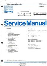 Philips Original Service Manual für Video VR 305 - 3 SB 05