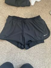 Nike Ladies Black Running Shorts Size M