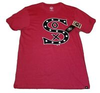 Chicago White Sox '47 Brand New T-shirt Men's Medium M - Red - Retro Stars USA