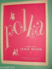 Polka by Jessie Wilson 1951 piano solo