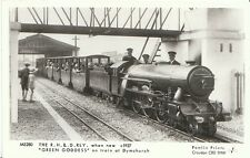 "Train Postcard - The R.H. & D. RLY When New c1927 ""Green Goddess"" Dymchurch 2121"