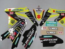 Suzuki Rmz250 2010-2016 Fábrica Yoshimura gráficos Kit, Kit Plástico + Funda De Asiento