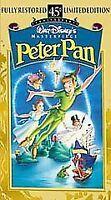 VHS Video Tape Movie DISNEY'S PETER PAN 02