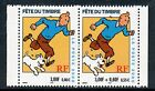 TIMBRE FRANCE NEUF N° 3304A ** PAIRE / FETE DU TIMBRE / TINTIN / ISSUS DE CARNET