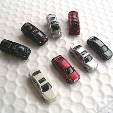100 pcs N gauge Model Cars 1:160 well Painted for Layout Scene