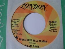 "BILLIE DAVIS ~ NORTHERN 45 on LONDON ~ ""THERE MUST BE A REASON"" ~ HEAR IT"