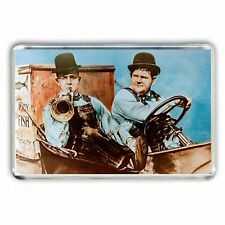 Laurel & and Hardy TOWED IN A HOLE JUMBO Fridge Magnet