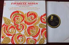 JOHN WUSTMAN ACCOMPANIMENTS TO HIGH VOICE PIANO LP +SHEET MUSIC MUSIC MINUS ONE