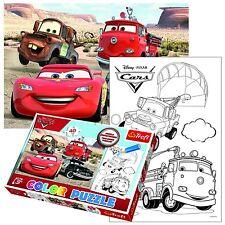 Trefl 40 PEZZI colore Fun Kids Unisex Disney Pixar Cars McQueen Puzzle