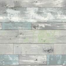 Tapete selbstklebend Holz Optik hell ablösbar abwischbar Vinyltapete 52x100cm