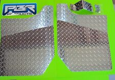 YAMAHA RHINO DIAMOND PLATE FLOOR BOARDS  and MASTER CYLINDER GAURD 2004 UP
