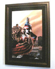 Marvel Captain America & The Falcon #5 - Ltd Ed Stan Lee Signed Numbered Framed