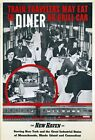 "Vintage Illustrated Travel Poster CANVAS PRINT New Haven Train Diner 16""X12"""