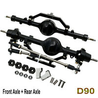 ARB Edition Alloy Front Axle + Rear Axle For 1:10 RC Rock Crawler D90 4WD Cars