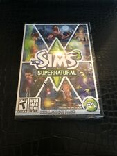 NEW Sealed The Sims 3 Supernatural Expansion Pack PC Mac EA Games