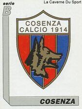 N°402 SCUDETTO LOGO BADGE # ITALIA COSENZA STICKER TUTTO CALCIO 1995 SL