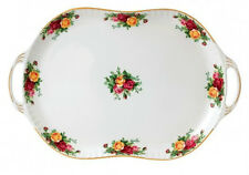 ROYAL ALBERT ART.40006484 VASSOIO CON MANICI 48CM OLD COUNTRY ROSES