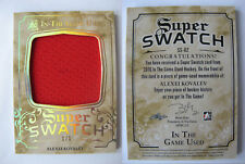 2015-16 ITG Used SS-02 Alexei Kovalev 1/1 super swatch jersey platinum 1 of 1