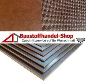 80x30 cm Siebdruckplatte 12mm Zuschnitt Multiplex Birke Holz Bodenplatte
