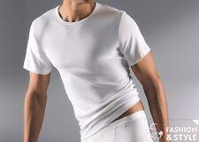 2 x Mey Herren T-Shirt Noblesse Rundhals Unterhemden Serie 2806 Gr. 6/L weiß