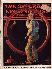 1937 Saturday Evening Post May 22-Fireman;Agatha Christie; Sam Goldwyn; Baseball