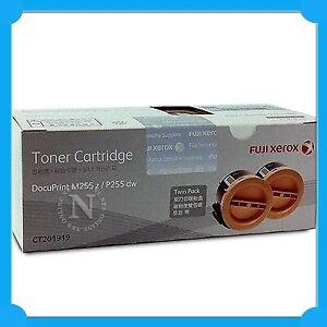 Fuji Xerox Genuine CT201919 BLACK *TWIN PACK* Toner for P255DW/M255Z (5K Yield)