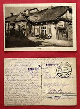 AK KOWEL Ukraine 1917 Typen Bauern Bauernhaus   ( 77125