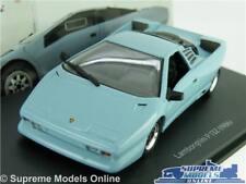 LAMBORGHINI P132 MODEL CAR 1:43 SCALE BLUE IXO 1986 SUPER SPORTS K8